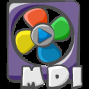 Filetype Movie Mdi Icon.
