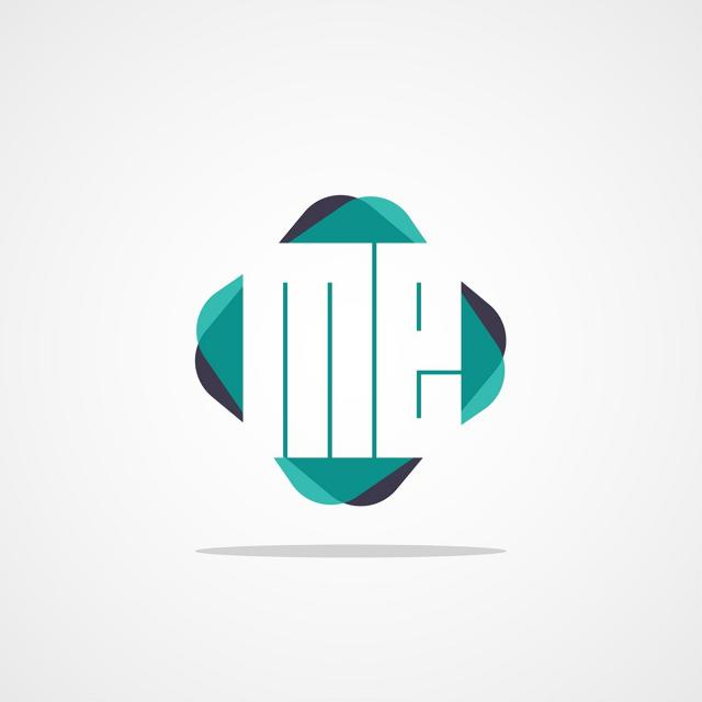 Initial Letter Me Logo Design Template for Free Download on.
