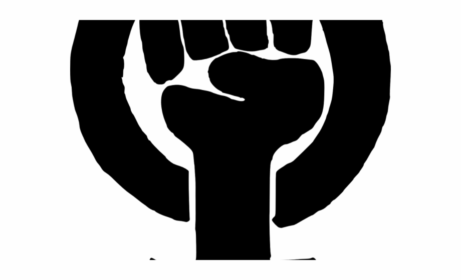 Black Panther Clipart Fist Me Too Movement Symbol.