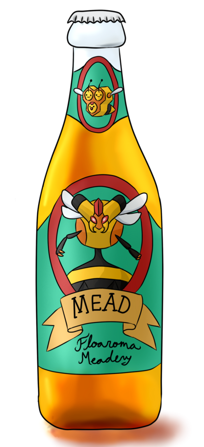 Mead clipart.