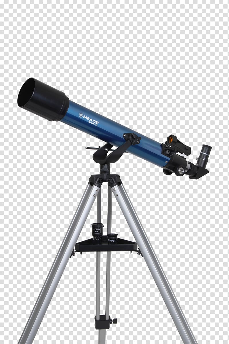 Refracting telescope Meade Instruments Altazimuth mount.