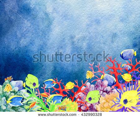 "underwater_clipart"" Stock Photos, Royalty."