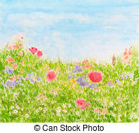 Meadow Illustrations and Clip Art. 50,954 Meadow royalty free.