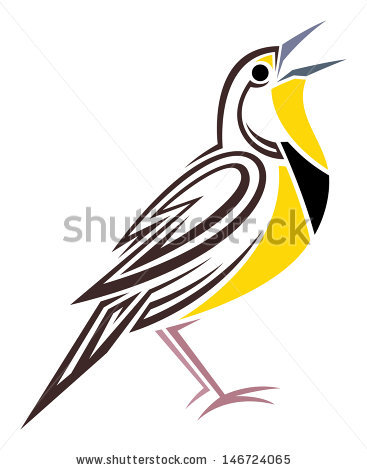 Meadowlark Stock Images, Royalty.