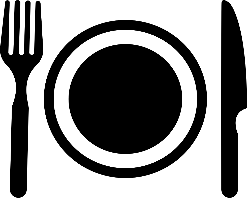 Meal Png Black And White & Free Meal Black And White.png.