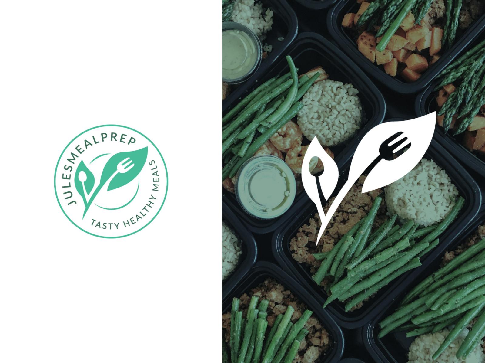 Healthy Meal Prep Logo Design by elif kameşoğlu on Dribbble.