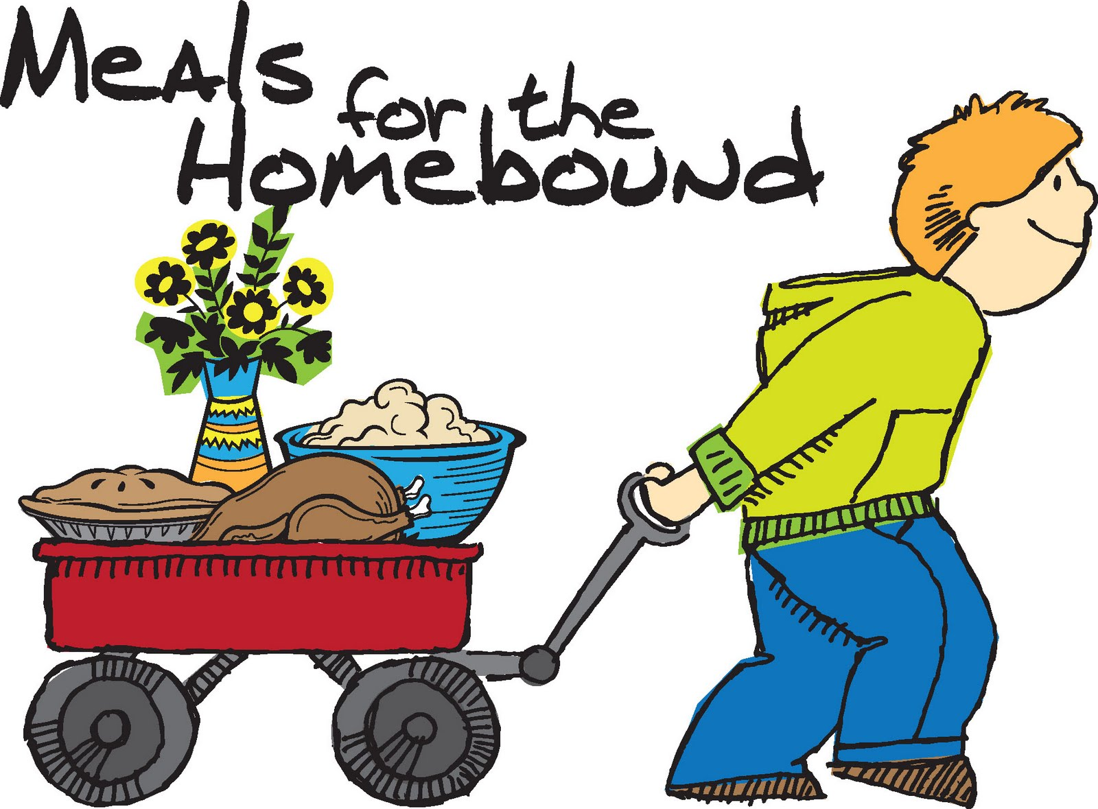 Meals On Wheels Images Clipart.