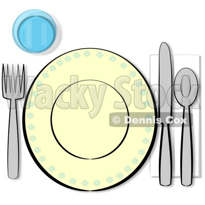 Mealtime Clipart by Dennis Cox.