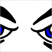 Mean Eyes Clipart (16+).