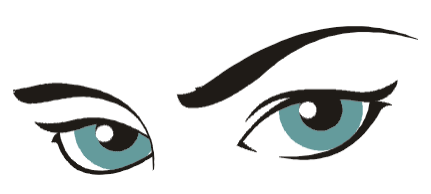 Mean Eyes Clipart Png Images.