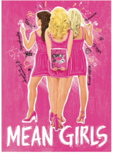 Mean Girls the Broadway Musical Magnet.