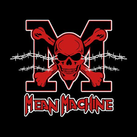 Mean machine Logos.