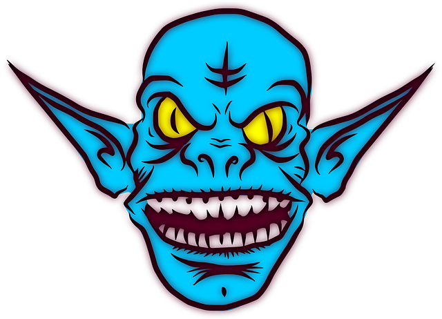 Free vector graphic: Troll, Ugly, Monster, Alien, Ears.