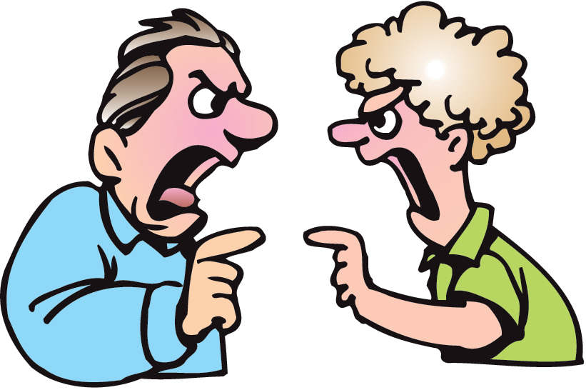 Yelling clipart mean person, Yelling mean person Transparent.