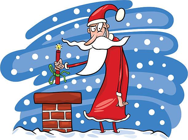 Mean Santa Clip Art, Vector Images & Illustrations.