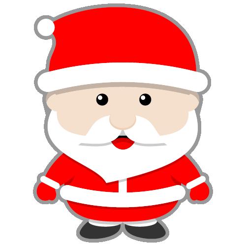 Mean Santa Claus Clipart.