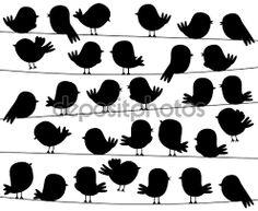 Resultado de imagen para siluetas de corazones en blanco y negro.