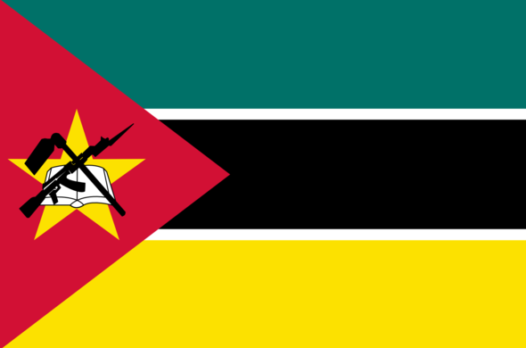 Mozambique Flag, Meaning & History, Mozambican Flag Information.