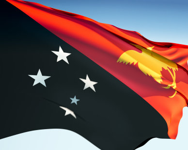 Papua New Guinea Flag Pictures.