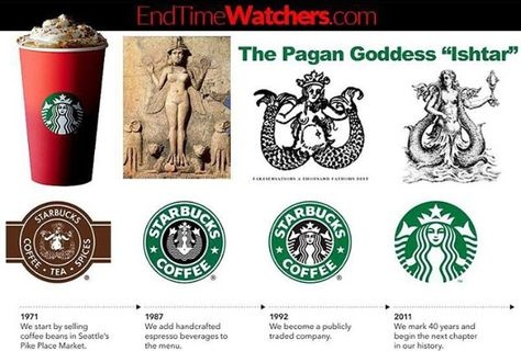 What is the meaning and story behind the Starbucks logo?.