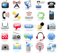 Forms Of Communication Clipart.