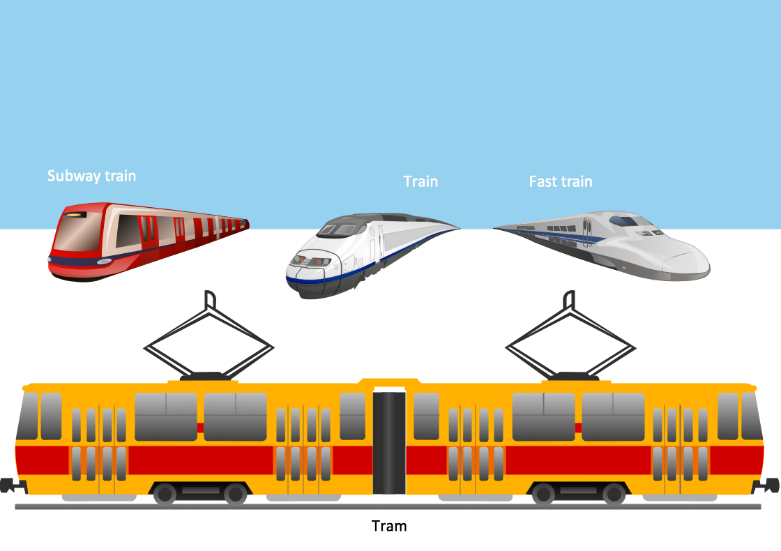 Means Of Rail Transport Clipart Clipground