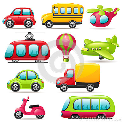 Clipart Images Of Means Of Transport.