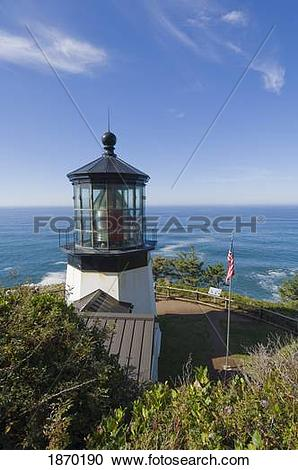 Stock Photography of oregon, united states of america; cape meares.
