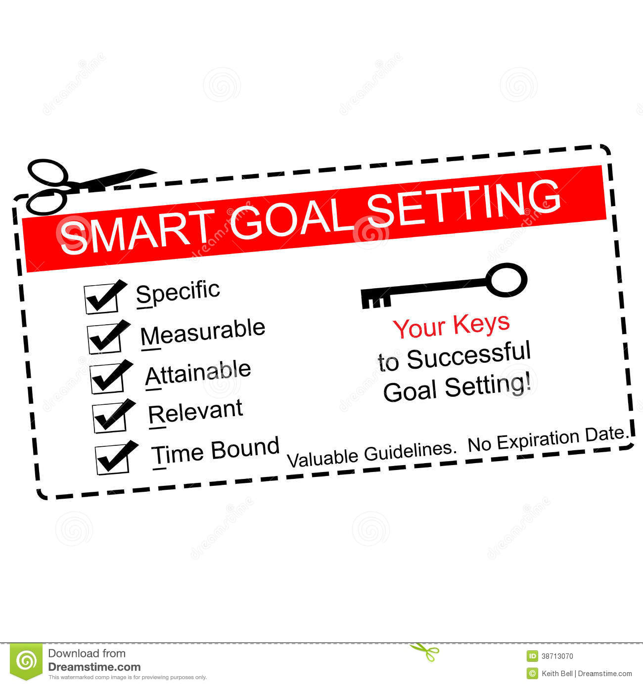 Making Goals Clip Art.
