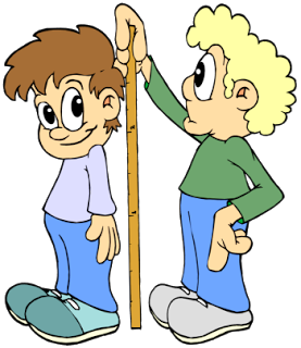 Measure Height Clipart.
