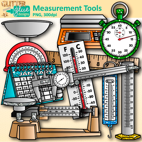Measurement Tools Clip Art.