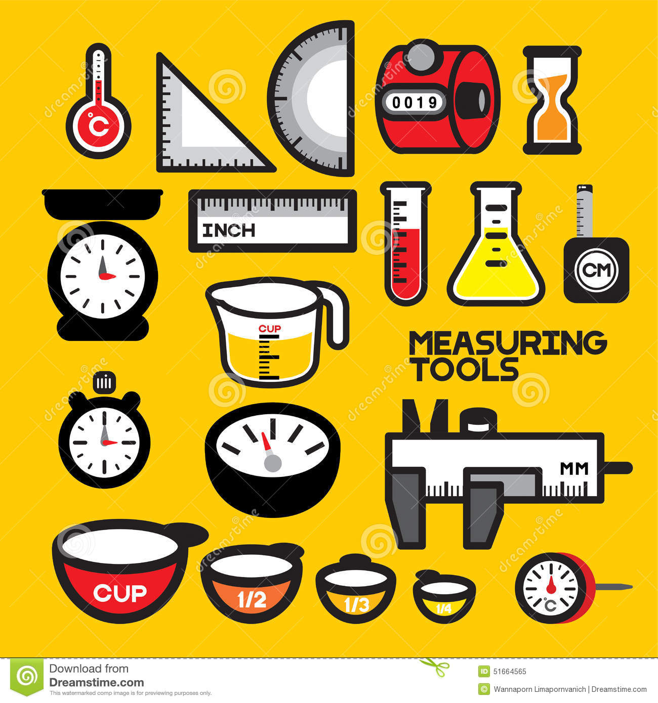 Cooking measurement clipart.