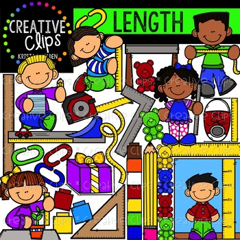 Length: Measurement Clipart {Creative Clips Clipart}.