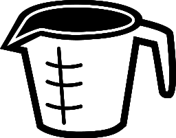 Measuring Cup Clipart.
