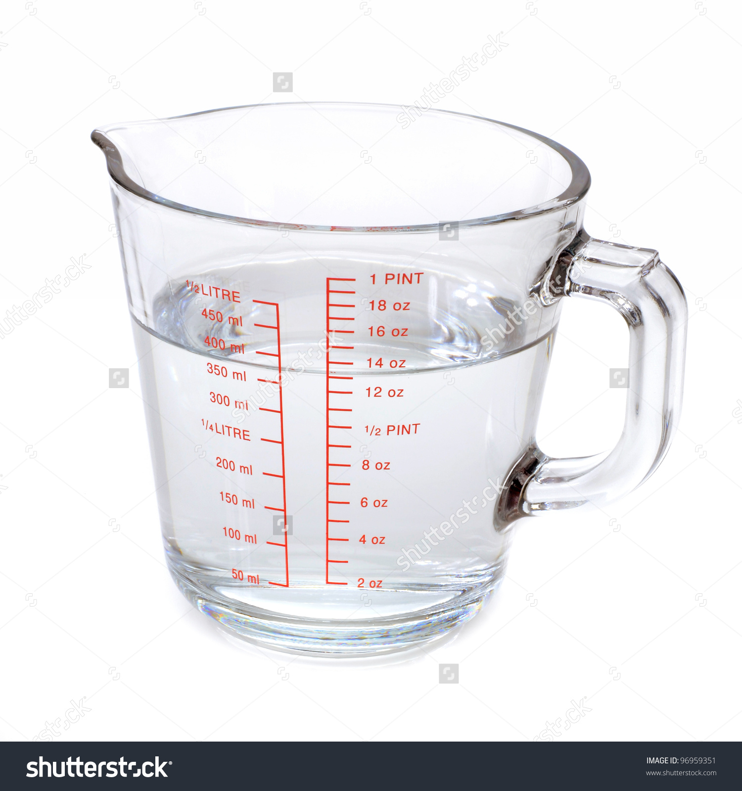 Measuring water clipart.