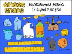 Math Measurement Clipart.