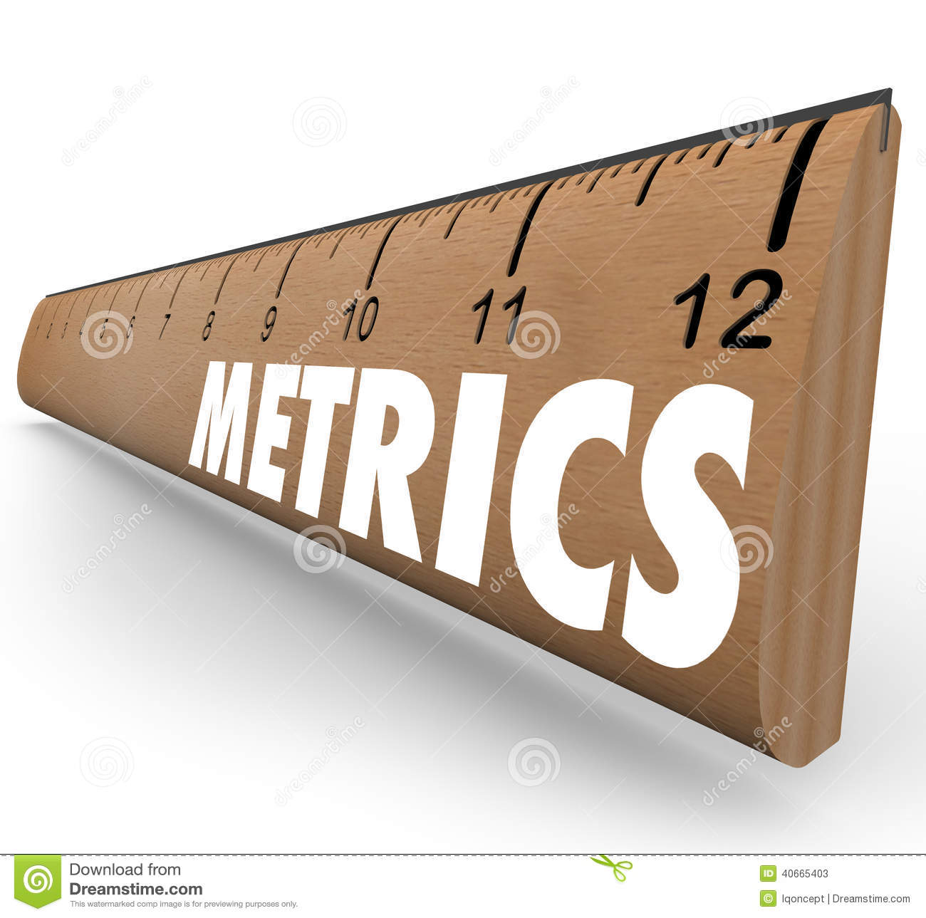 Metric measurement clipart.