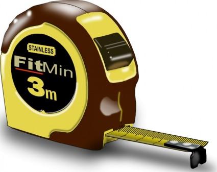 Measuring Tape clip art.