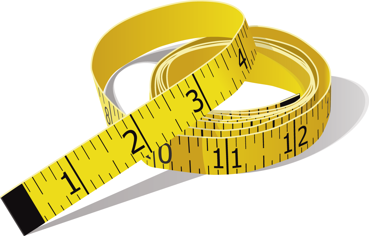Measure Tape PNG Image.