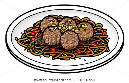Clip Art Bbq Meatballs Clipart.