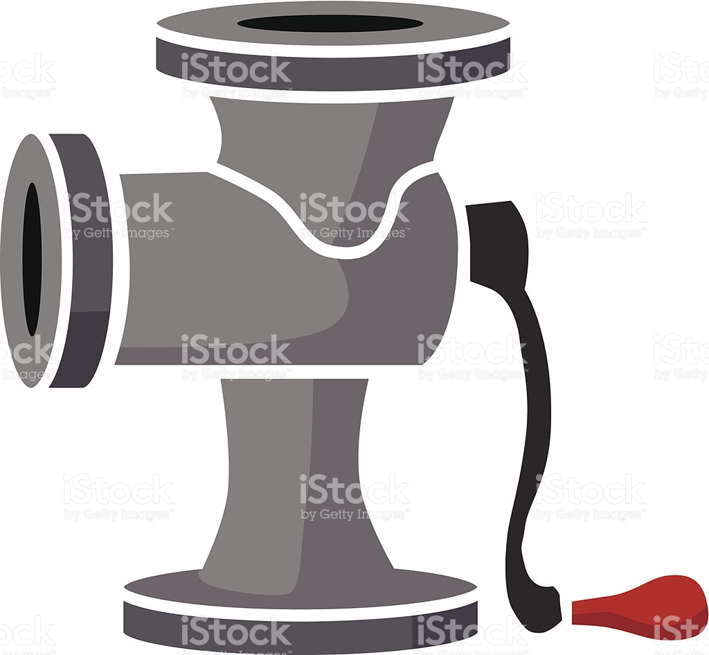 Meat Grinder stock vector art 482044431.