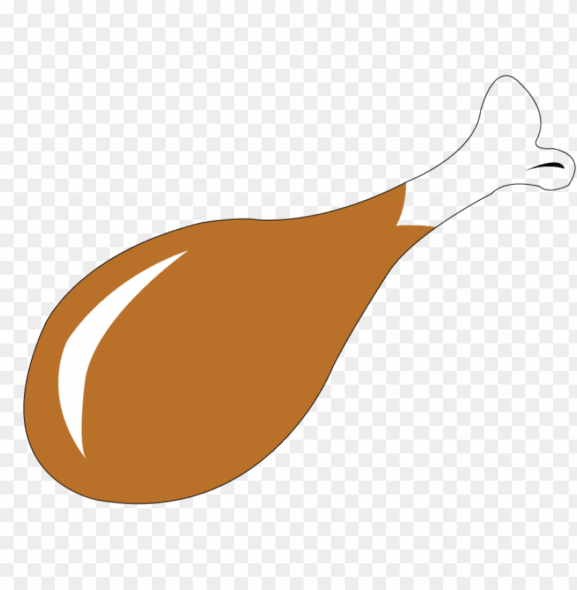chicken meat clipart PNG image with transparent background.