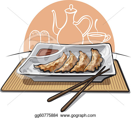 dumpling clipart boiled meat dumplings #26683698.