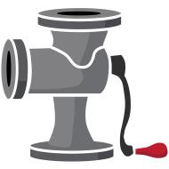 Clipart meat grinder.