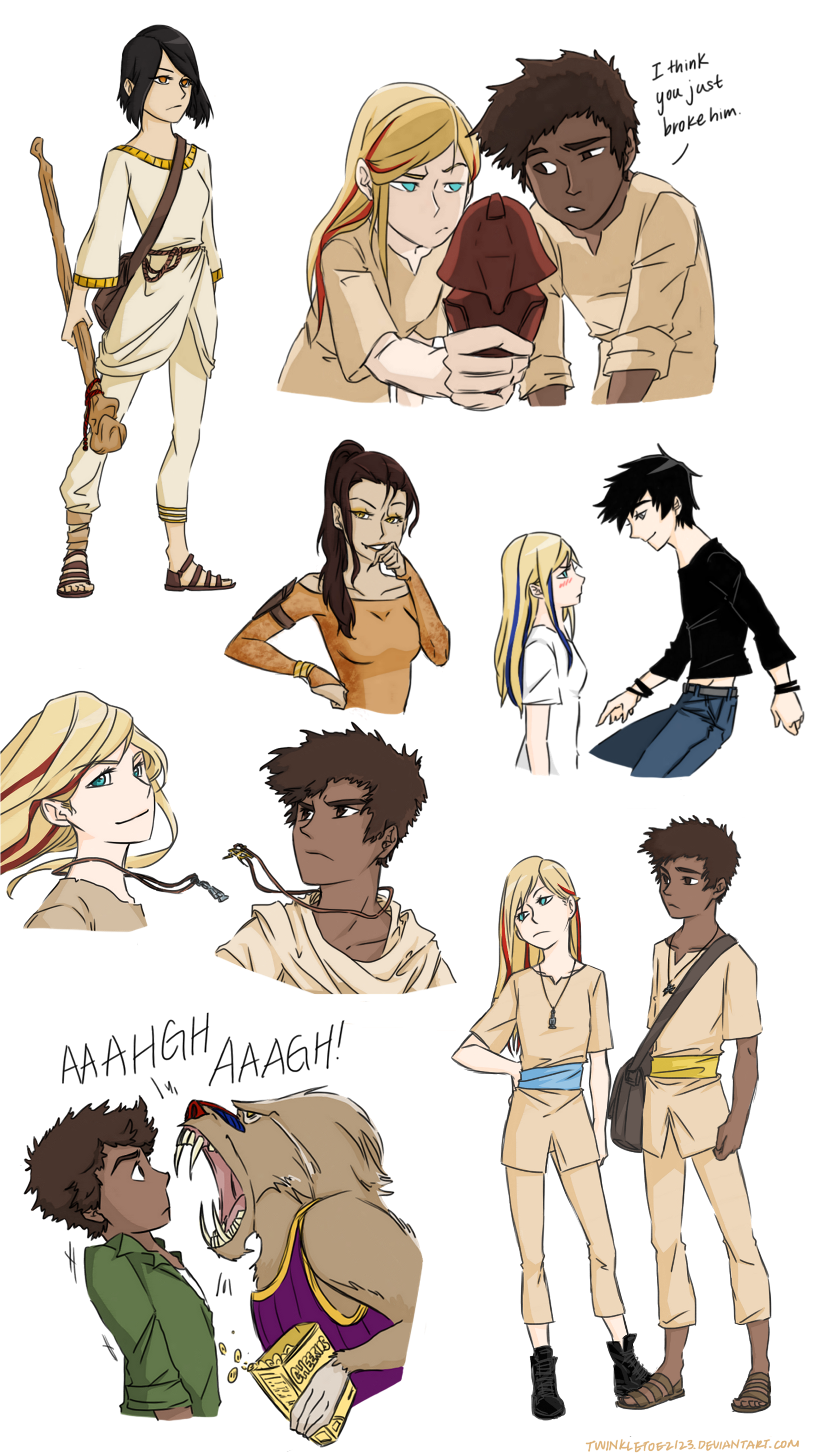 1000+ images about Percy jackson, heroes of olympus, and the kane.