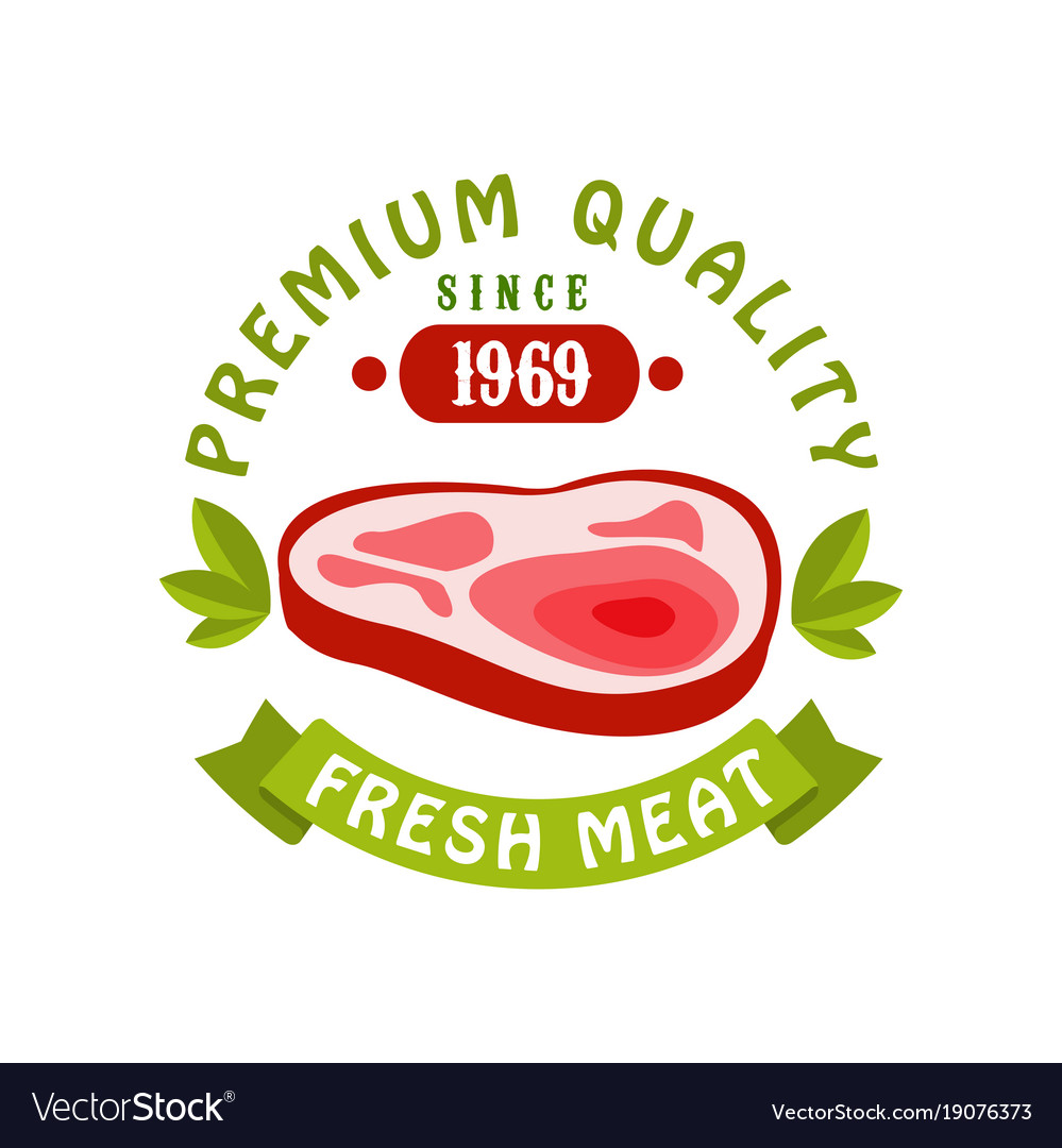 Premium quality since 1969 fresh meat logo.