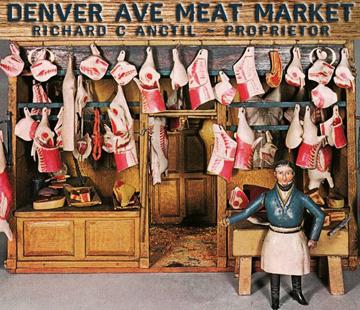 Meat Market Clip Art.