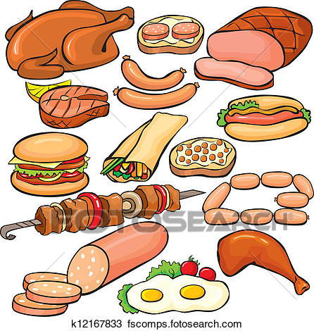 Meat Pictures Free Clipart.