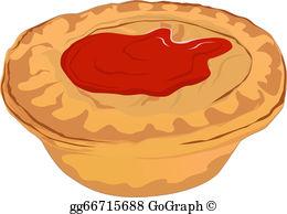 Meat Pie Clip Art.