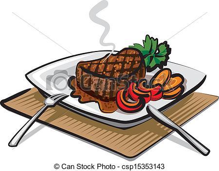Steak Meat Clipart.